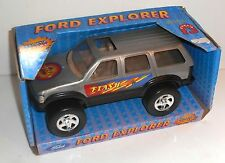 Vintage Ford Motor Company FORD EXPLORER (Silver) TRUCK by Starkid - Boxed