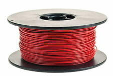 50 METRE ROLL OF RED 14/0.30 AUTO CAR CABLE 1mm² CAR CAMPER CARAVAN RADIO LIGHTS