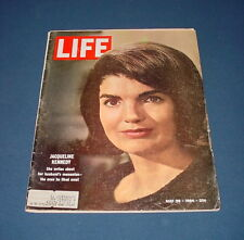 LIFE MAGAZINE MAY 29 1964 JACQUELINE KENNEDY GIACOMETTI SWISS SCULPTOR