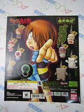 GeGeGe no Kitaro Light Strap Gashapon Toy Machine Paper Card Bandai Japan