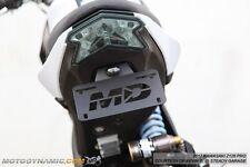 2017+ Kawasaki Z125 Pro Tidy Tail Fender Eliminator Kit w/ LED Plate Light