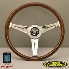 Nardi Steering Wheel ND CLASSIC WOOD Grain Polished Spokes 360mm 5061.36.3000