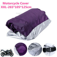 XXL Waterproof Motorcycle Cover For Suzuki Savage 650 Intruder 800 1400 1500