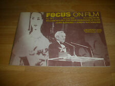 FOCUS on Film Magazine William Wyler Achievement Award cover  # 24  Spring 1976