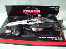 MAC LAREN  MERCEDES  MP 4/13   D. COULTHARD   MINICHAMPS  1/43  NO  SPARK