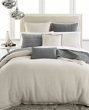 Hotel Collection Bedding Linen Natural KING Duvet/Comforter Cover BEIGE B2311