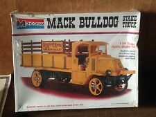 1973 Vintage Monogram Mack Bulldog 1920's Stake Truck, 1/24, SEALED #7537-0500