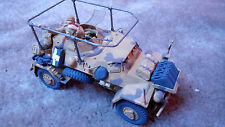 GERMAN SD.KFZ.222 PANZERSPAHWAGEN ARMOURED CAR D 1/35 PRO BUILT / MADE