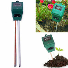 3 in 1 PH Tester Soil Water Moisture Light Test Meter for Garden Plant Flower B2