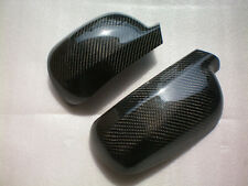 For VW Golf MK4 1998-2003 Left Hand Drive PUT-ON CARBON FIBER Side Mirror Covers