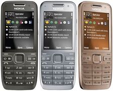 Original Nokia E Series E52 3G Cell Phone Camera 3.2MP Bluetooth Wifi GPS Phone