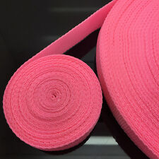 New Hot 10 Yards Length 30mm Wide Pink Strap Nylon Webbing Strapping #NS16
