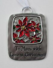 VD To Mom with love at Christmas Tidings CHRISTMAS ORNAMENT Ganz