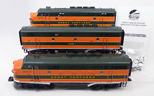 MM MTH 20-2220-1 Great Northern F3 ABA Diesel Set Upgraded with BCR MINT