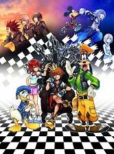 Kingdom Hearts - Beautiful High QualityPoster  22 x 34 inch ( Fast Shipping )