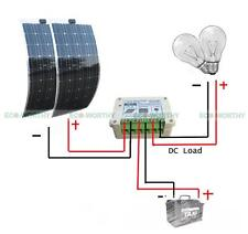 12V Flexible Bendable Solar Panel Kit:200W Solar Panel+15A Solar Controller