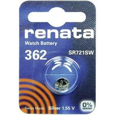 362 (SR721SW) Coin Battery Pack Renata 1.55V / for Watches Car Keys Torches