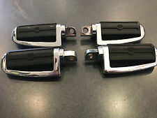 HARLEY-DAVIDSON CHROME FOOT PEGS SET OF 4 USED GOOD CONDITION