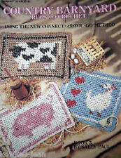 Crochet rag rug pattern Leisure Arts Country Barnyard