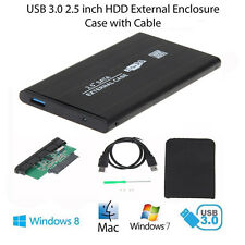 "USB 3.0 SATA 2.5"" Inch Hard Drive External Enclosure HDD HD Mobile Disk Case Box"