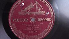 Evan Williams - 78rpm single 12-inch –Victor #74205 Answer