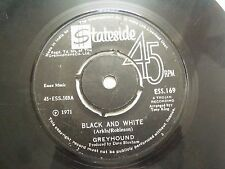 "GREYHOUND black & white/sand in shoes RARE SINGLE 7"" 45 1971 INDIA INDIAN VG-"