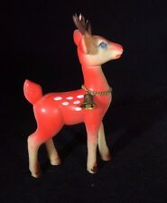 Vintage Deer Toy Rubber Made in Japan