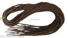 Dreadlocks Double Ended Synthetic Singular Dreads Falls Reddish Brown (Color 30)