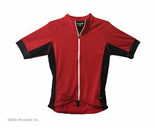 Road cycling jersey Cannonade Prelude XXL 2XL shorts sleeve red Perf semi fit