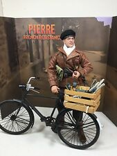 1/6 DID BRAD PITT RESISTANCE PARTISAN FIGHTER+BICYCLE MP-40 P-38 WW2 DRAGON BBI