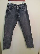 MEN'S LEVI JEANS 501CT  Customized & Tapered Acid wash NWT 32-30