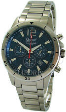 Garde Ruhla Made in Germany 24h Edelstahl Chronograph Herrenuhr menwatch blau