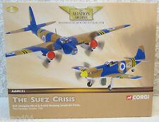 Corgi 2 Plane Set D.H. Mosquito & P-51D Mustang Israeli Air Force-Die-Cast 1:72