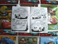 24 pcs Disney Pixar Cars Coloring Book & 96 Crayon Set Boys Gift Bag Filler