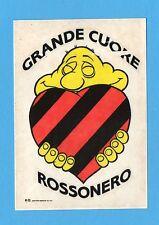 MILAN-MEGA SQUADRA MIA-Masters 1991-ADESIVO n.54- GRANDE CUORE ROSSONERO -NEW