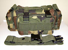 NEW Molle Camo Outdoor Survival Camping SWAT Military Bug Out Bag Pack Pouch