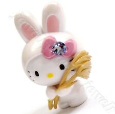 Hello Kitty Swarovski Elements Crystals Japan Limited Cute Rabbit Pendant Charm