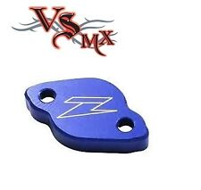 ZETA Rear Brake Reservoir Cover BLUE Yamaha YZF250 03-16 YZF450 03-16
