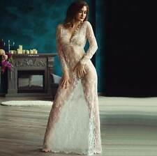 US Plus Size 12-14 XL-2XL Women Sexy Lingerie Dress Babydoll Nightwear 52205