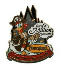 Disney pin PIRATE DONALD DUCK Year of a Million Dreams  Travel Company Authentic