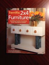 Terrific 2x4 Furniture : Building Stylish Furniture... by Stevie Henderson