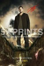 SUPERNATURAL SIGNED PP JENSEN ACKLES DEAN WINCHESTER 12X8 PHOTO POSTER GIFT A