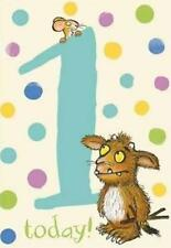 The Gruffalo's Child  Age 1/1st Birthday Card - Blue
