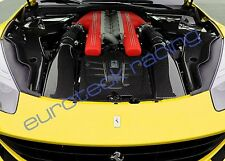 Ferrari F12 Berlinetta Complete Carbon Fiber Engine bay, Airbox & Engine Covers