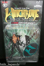 "KENNETH IRONS from WITCHBLADE. 6"" Figure. Top Cow/Clayburn Moore. New!"