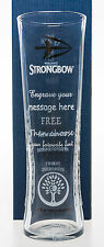 Personalised Strongbow Pint Glass Gift For Dad/Daddy/Husband/Grandad/Christmas