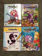 NEOPETS Book Lot of 4 ~ Unused Learn to Draw