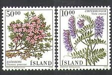 Iceland 1988 Thyme/Flowers/Plants/Herbs/Nature 2v set (n37576)