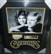 """THE CARPENTERS""  KAREN and RICHARD CARPENTER  Signed Montage AFTAL"