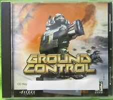 Ground Control Video Game (PC, 2000)